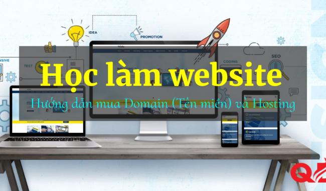 hướng dẫn mua domain và hostig