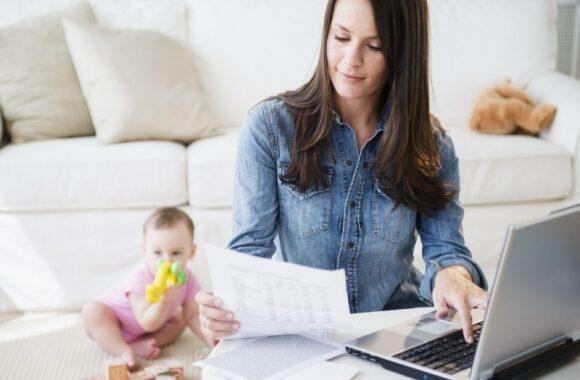Cách kiếm tiền online dành cho mẹ bỉm sữa