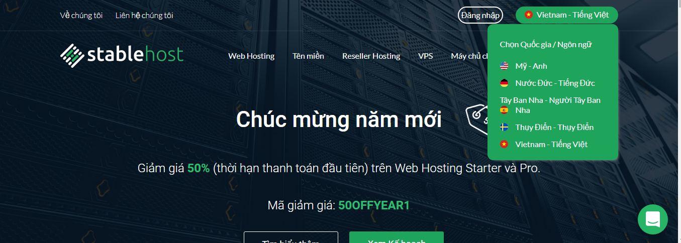 tại sao chọn StableHost làm hosting nên dùng là tốt nhất 2019