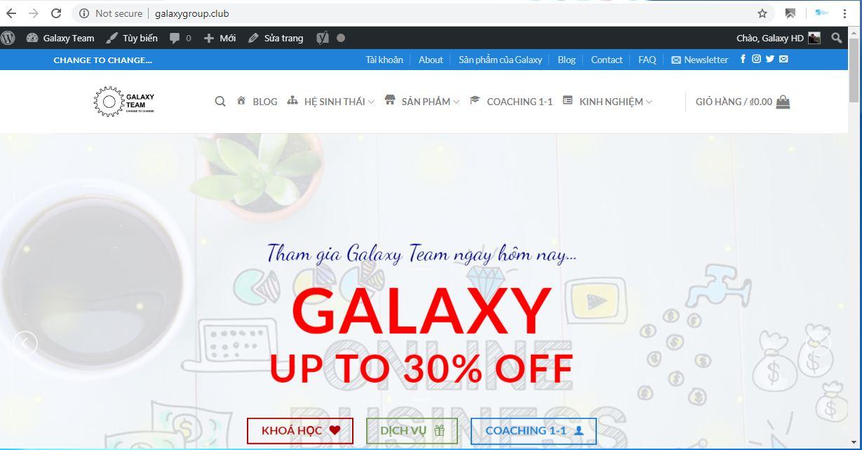 Galaxy Group là ai ? Galaxy Group có lừa đảo không?