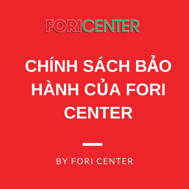 chính sách bảo hành của coaching team fori center