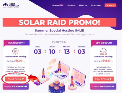 Hướng dẫn mua hosting Hostarmada